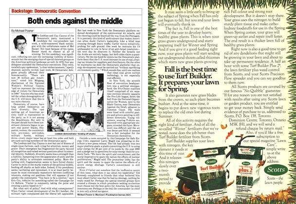 Article Preview: Both ends against the middle, August 1980 | Maclean's