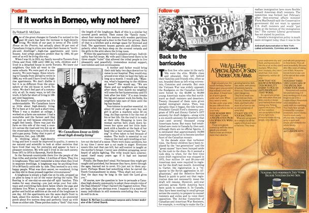 Article Preview: Back to the barricades, August 1980 | Maclean's