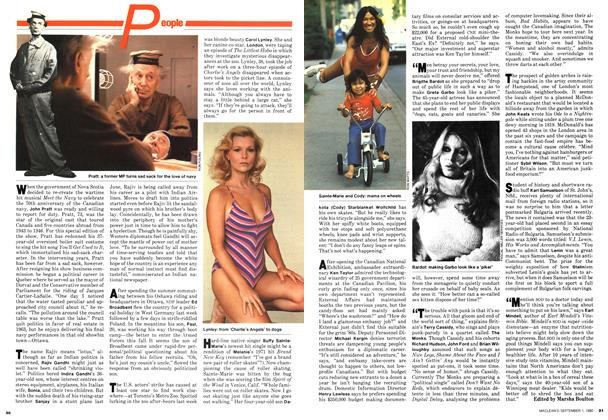Article Preview: People, September 1980 | Maclean's