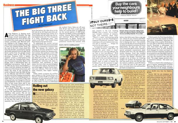 Article Preview: THE BIG THREE FIGHT BACK, September 1980 | Maclean's