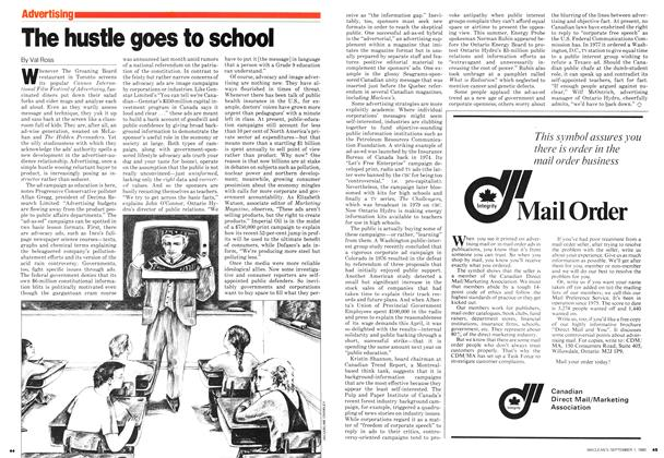 Article Preview: The hustle goes to school, September 1980 | Maclean's