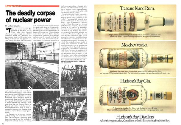 Article Preview: The deadly corpse of nuclear power, September 1980 | Maclean's