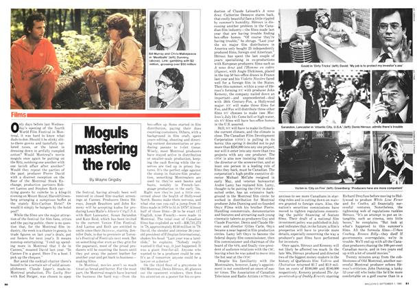 Article Preview: Moguls mastering the role, September 1980 | Maclean's