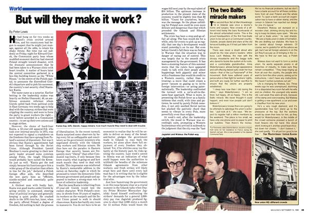 Article Preview: But will they make it work?, September 1980 | Maclean's