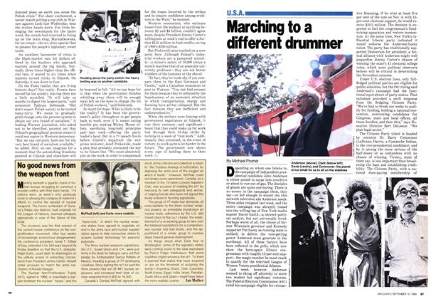 Article Preview: Marching to a different drummer, September 1980 | Maclean's