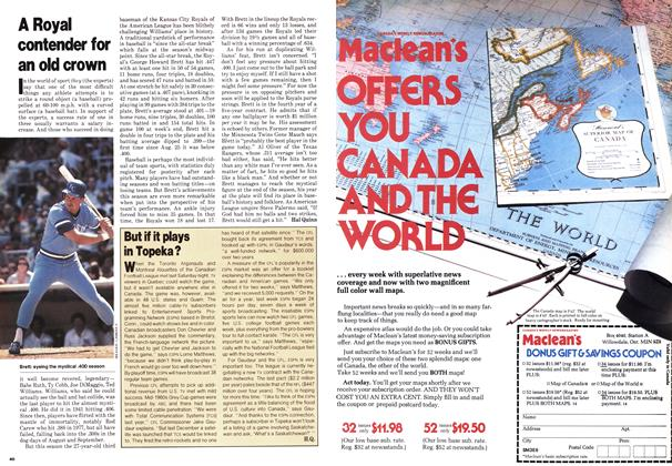 Article Preview: A Royal contender for an old crown, September 1980 | Maclean's