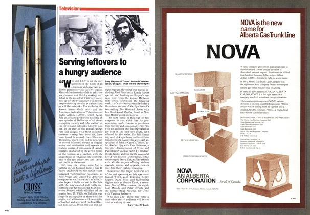 Article Preview: Serving leftovers to a hungry audience, September 1980 | Maclean's