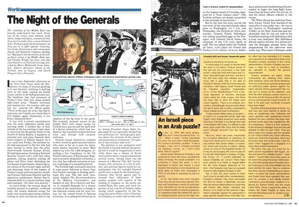 Article Preview: The Night of the Generals, September 1980 | Maclean's
