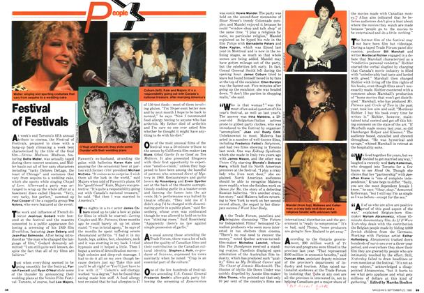 Article Preview: Festival of Festivals, September 1980 | Maclean's