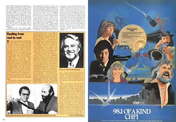 Article Preview: Reeling from reel to reel, September 1980 | Maclean's