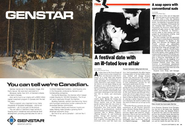 Article Preview: A festival date with an ill-fated love affair, September 1980 | Maclean's