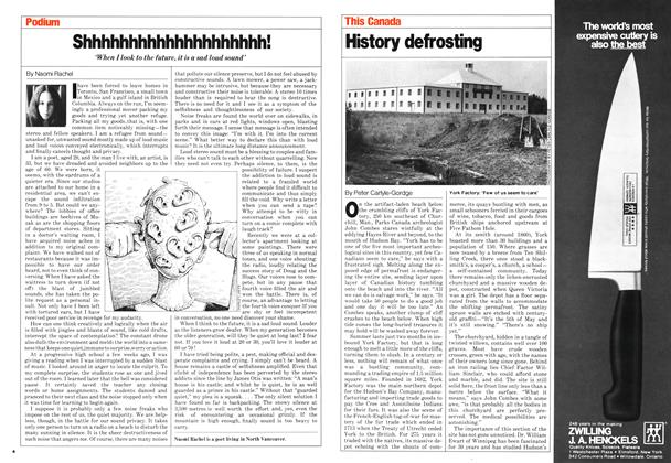 Article Preview: History defrosting, September 1980 | Maclean's