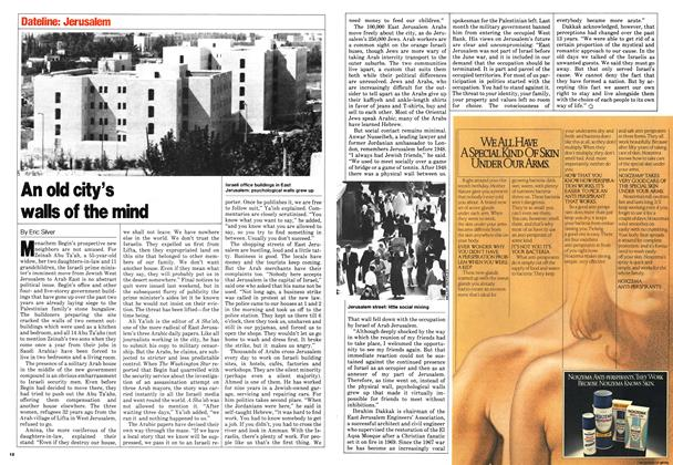 Article Preview: An old city's walls of the mind, September 1980 | Maclean's