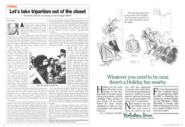 Article Preview: Let's take tripartism out of the closet, September 1980 | Maclean's