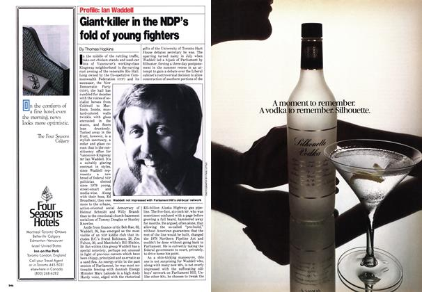 Article Preview: Giant-killer in the NDP's fold of young fighters, October 1980 | Maclean's