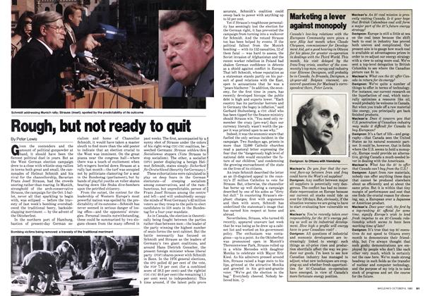 Article Preview: Rough, but not ready to quit, October 1980   Maclean's