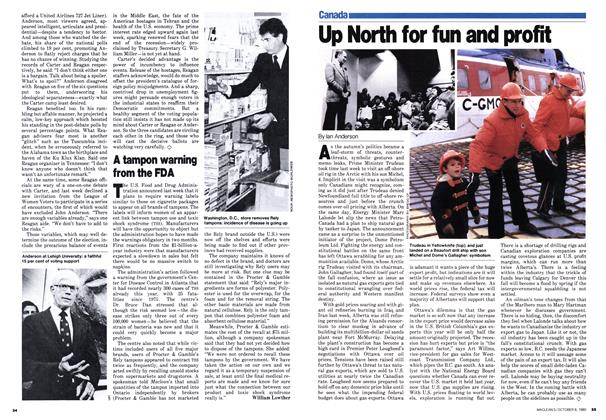 Article Preview: Up North for fun and profit, October 1980 | Maclean's
