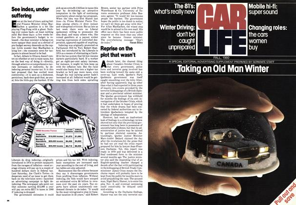 Article Preview: See index, under suffering, October 1980 | Maclean's