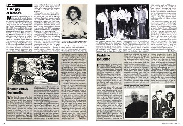 Article Preview: A sad gay at Bishop's, October 1980 | Maclean's