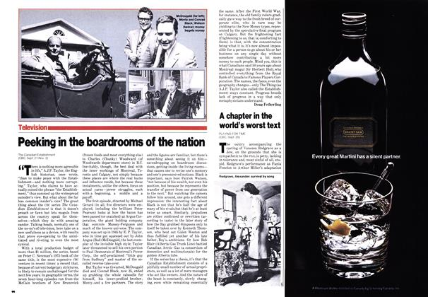 Article Preview: Peeking in the boardrooms of the nation, October 1980 | Maclean's
