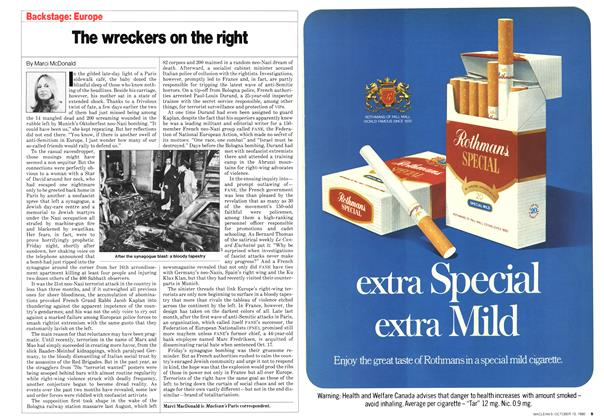Article Preview: The wreckers on the right, October 1980 | Maclean's