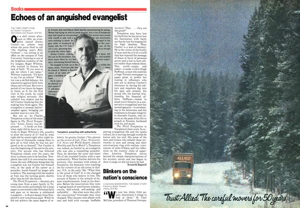 Article Preview: Echoes of an anguished evangelist, October 1980 | Maclean's