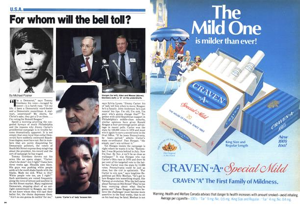 Article Preview: For whom will the bell toll?, October 1980 | Maclean's