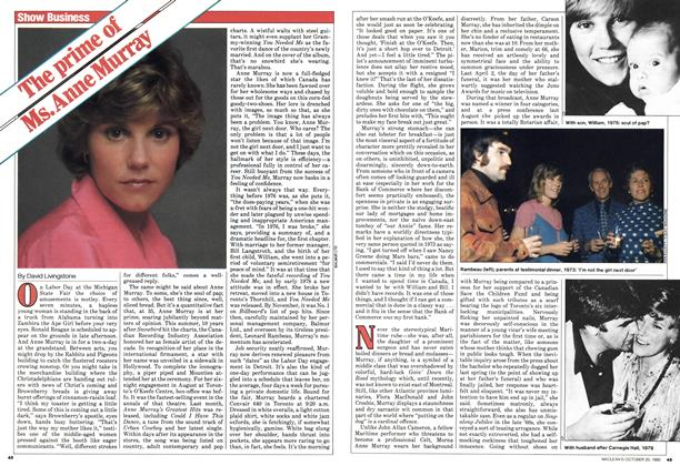 Article Preview: The prime of Ms.Anne Murray, October 1980 | Maclean's