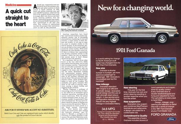 Article Preview: A quick cut straight to the heart, October 1980 | Maclean's