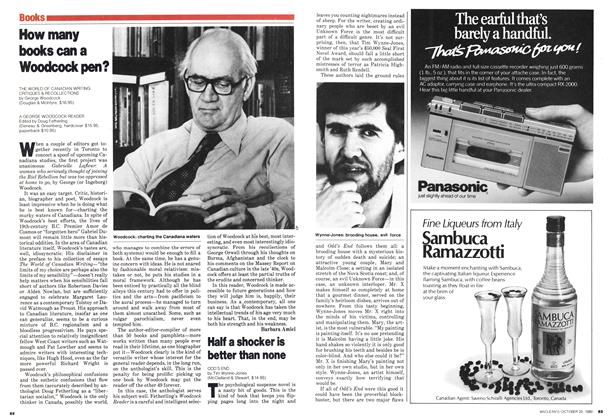 Article Preview: How many books can a Woodcock pen?, October 1980 | Maclean's