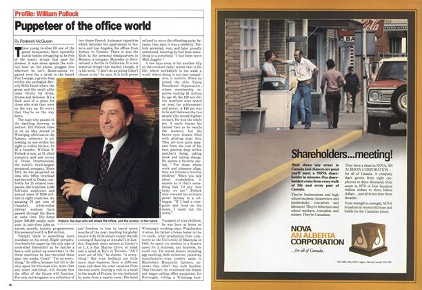 Article Preview: Puppeteer of the office world, October 1980 | Maclean's