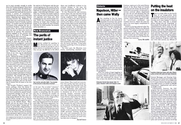 Article Preview: The perils of instant justice, October 1980 | Maclean's