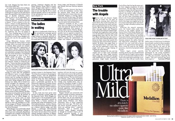 Article Preview: The ladies in waiting, October 1980 | Maclean's