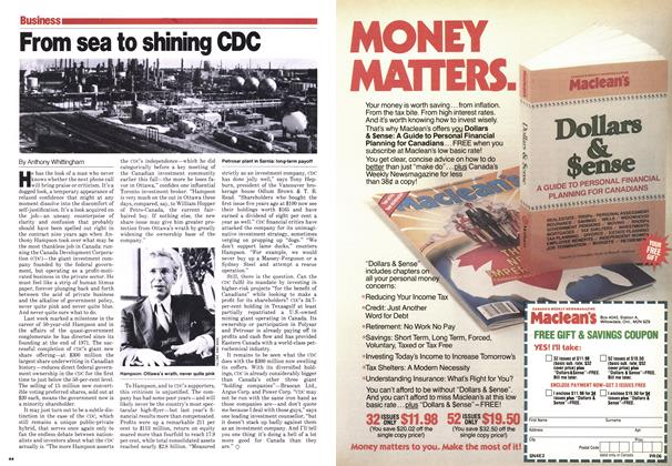 Article Preview: From sea to shining CDC, October 1980 | Maclean's