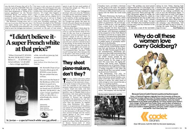 Article Preview: They shoot piano-makers, don't they?, November 1980 | Maclean's