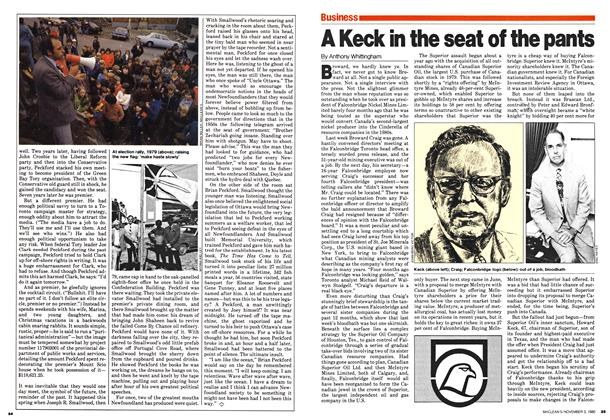 Article Preview: A Keck in the seat of the pants, November 1980 | Maclean's