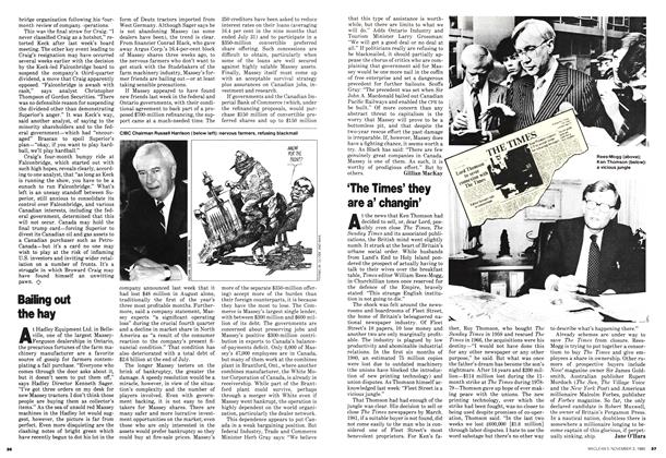 Article Preview: 'The Times' they are a' changin', November 1980 | Maclean's