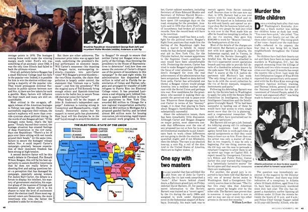 Article Preview: One spy with two masters, November 1980 | Maclean's