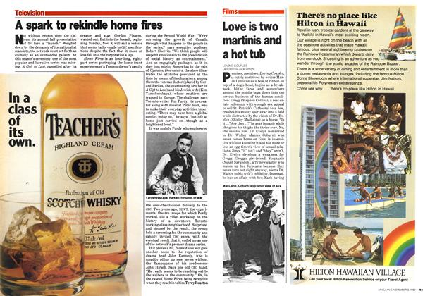 Article Preview: Love is two martinis and a hot tub, November 1980 | Maclean's