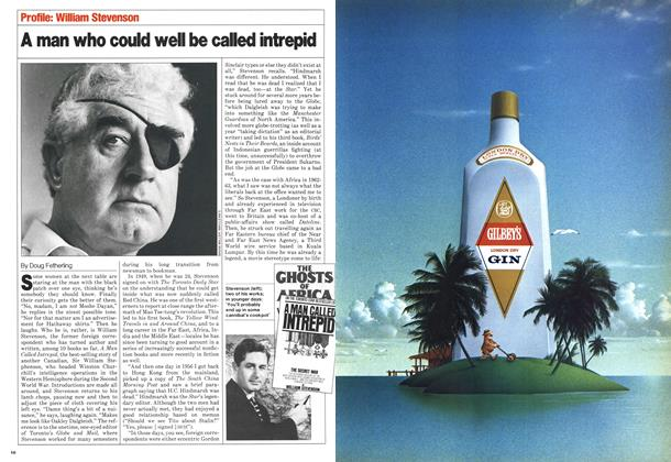 Article Preview: A man who could well be called intrepid, November 1980 | Maclean's