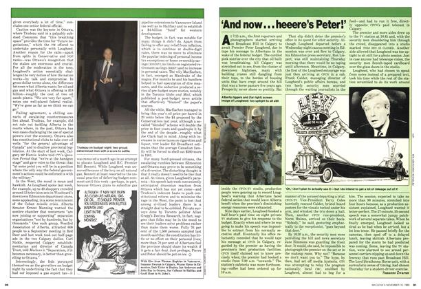 Article Preview: 'And now... heeere's Peter!', November 1980 | Maclean's