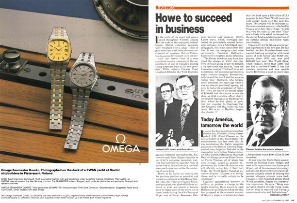 Article Preview: Today America, tomorrow the world, November 1980   Maclean's