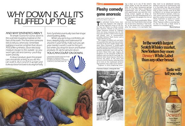 Article Preview: Fleshy comedy gone anorexic, November 1980 | Maclean's