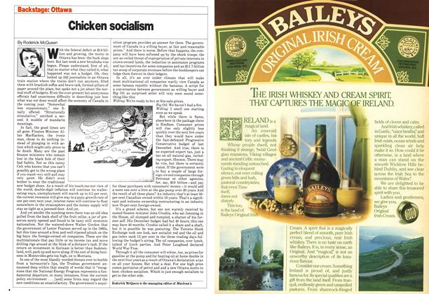 Article Preview: Chicken socialism, November 1980 | Maclean's