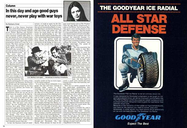 Article Preview: In this day and age good guys never, never play with war toys, November 1980 | Maclean's