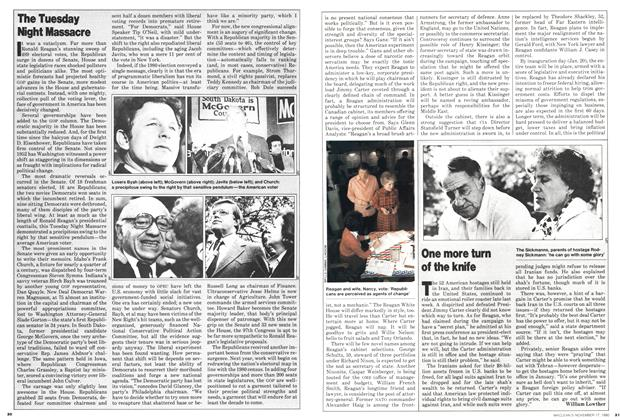 Article Preview: One more turn of the knife, November 1980 | Maclean's