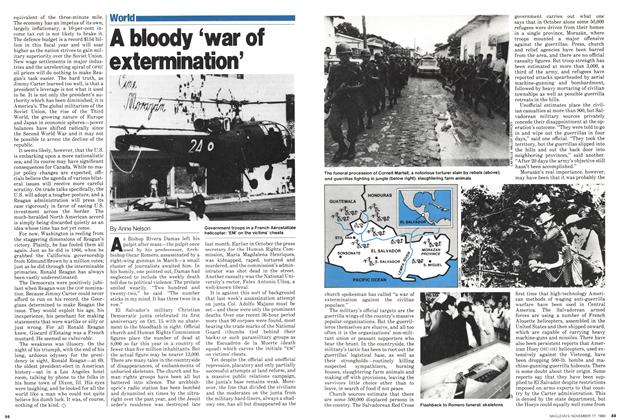 Article Preview: A bloody 'war of extermination', November 1980 | Maclean's