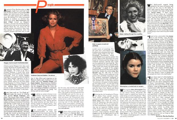 Article Preview: People, November 1980 | Maclean's