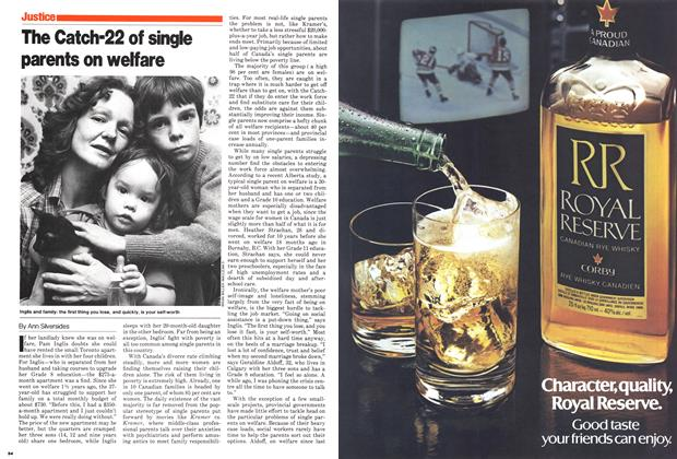 Article Preview: The Catch-22 of single parents on welfare, November 1980 | Maclean's