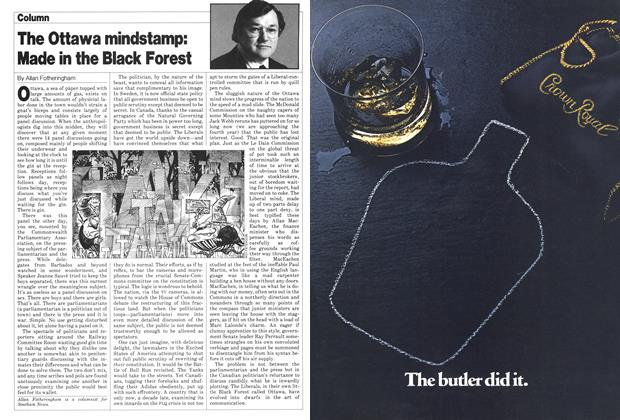 Article Preview: The Ottawa mindstamp: Made in the Black Forest, November 1980 | Maclean's